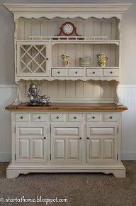 how to give an old hutch new life, painted furniture diy Dining room hutch Old Hutch, New Life! Bar Furniture, Refurbished Furniture, Farmhouse Furniture, Repurposed Furniture, Shabby Chic Furniture, Furniture Projects, Furniture Makeover, Painted Furniture, Bedroom Furniture