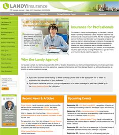 Web Site Remix: Professional Liability Insurance Professional Liability, Brand Management, Accounting, Creativity, Marketing, Business, Branding, Business Accounting