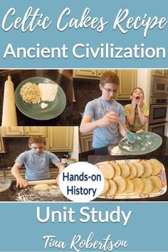 How to make Celtic cakes recipe to being a hands-on history unit study. Too, you'll love the free minibook about Mesopotamia to being the study of Ancient Civilization. Your kids will love making this fun Celtic cakes recipe and learning about the Celtics. CLICK here to grab this recipe! Teaching Latin, Teaching History, Free Homeschool Curriculum, Homeschooling Resources, Alternative Education, History For Kids, Unit Studies, Hands On Activities, Worksheets For Kids