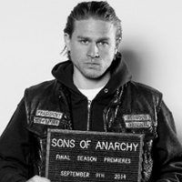 """Charlie Hunnam as """"Jax"""" Teller in the FX drama series """"Sons of Anarchy"""" Sons Of Anarchy Tara, Sons Of Anarchy Samcro, Jax Teller, China Glaze, Sons Of Anarchy Tattoos, Outlander, Jackson Teller, Sons Of Anarchy Motorcycles, Charlie Hunnam Soa"""