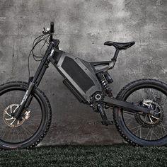 Fancy - Stealth Bomber Electric Bike(뒷부분을 조금 변경하고 필요시 펼칠 수 있는 뒷바퀴 흙받이도 달아서 새로운 모델로 만들면 더 좋을 듯...)