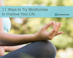 Try THESE tips to manage #stress and enhance your health. #mindfulness