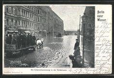 AK Berlin-Kreuzberg, Hochwasser in der Yorkstraße 1902