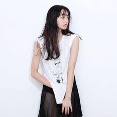 Komatsu Nana, Celebs, Celebrities, Japanese Girl, Asian Woman, Hair Beauty, Actresses, T Shirts For Women, Lady