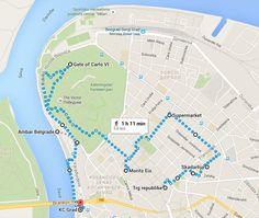 belgrado-citytrip-standswandeling-route