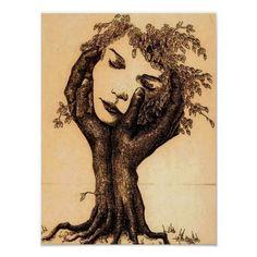 Illusion Kunst, Illusion Art, Mutter Erde Tattoo, Mother Earth Tattoo, Mother Earth Drawing, Mujeres Tattoo, Earth Drawings, Weird Drawings, Single Line Tattoo