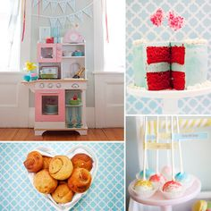 i want to make this kitchen center...too bad i don't have a little girl, but maybe i can make it for when my nieces come to visit :)
