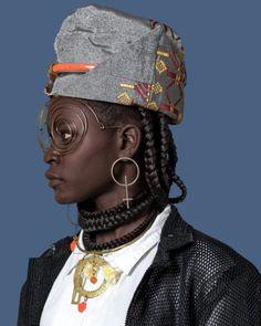 L'afrofuturisme prend la mode - The Nerve Africa - African Inspired Fashion, African Fashion, African Culture, African Art, Afro Punk Fashion, Tribal Fashion, Womens Fashion, Moschino, Fashion Photography Inspiration
