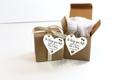 Covid Themed Wedding Tags, Wedding Day Guests Gifts of Face Mask and Hand Santiser. Heart Shaped Personalised Wedding Favours. #weddytags #personalisedweddingdecor #lockdownweddings #weddings2020 #quarantineweddings #covidthemedwedding #weddingfavours #weddinginspo Guest Gifts, Personalized Wedding Favors, Wedding Favor Tags, Hand Sanitizer, Gift Tags, Heart Shapes, Birthday, Face, Party