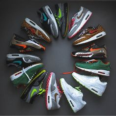 sports shoes 18739 8edc0 Air Max circle! Which one would you pick  by  jabbarofsky  sneakersmag  nike   nikeair  airmax1