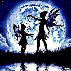 Full Moon fairies! . . #art #fantasyart #shortshotstudios Moon Fairy, Studio S, Art Studios, Full Moon, Fairies, Fantasy Art, My Arts, Movie Posters, Fictional Characters