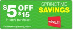 check your email for a possible $5 off $15 coupon!  http://www.iheartcvs.com/2014/04/purchased-based-coupons-issued-to-some_24.html