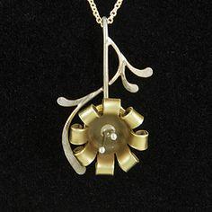 Made from pistol cartridges....bullet shell flower
