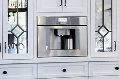 Thermador Fully Automatic Built-in Coffee Machine Coffe Machine, Dallas Real Estate, Modern Colonial, Green Technology, Best Bath, French Door Refrigerator, Southern Living, Plumbing, Countertops
