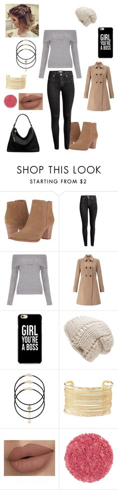 """""""Sans titre #2156"""" by amandine-collet on Polyvore featuring mode, Franco Sarto, H&M, New Look, Miss Selfridge, The North Face, Charlotte Russe et Michael Kors"""
