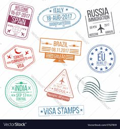 Stamp Drawing, Greece Art, Id Card Template, Passport Stamps, Happy Design, Vintage Stamps, Cool Wallpaper, Journal Inspiration, Royalty Free Photos