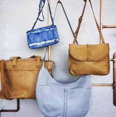 Handtaschen von NOOSA Amsterdam sind weiche, pflanzlich gegerbte Taschen, die sich perfekt mit jedem Outfit kombinieren lassen