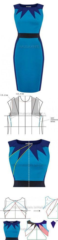 Моделирование верхней части платья | Шкатулка