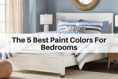 The best paint shades to help you sleep better and make your bedroom feel like a relaxing sanctuary. Your bedroom should be a place that you love to come home to at the end of day and a color that helps you fall asleep at night. - March 09 2019 at Calming Bedroom Colors, Best Bedroom Colors, Bedroom Color Schemes, Paint Colors For Living Room, Paint Colors For Home, Modern Paint Colors, Best Paint Colors, Color Paints, Bedroom Wood Floor