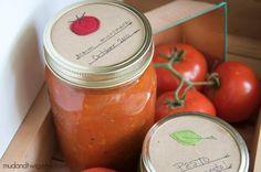 Mason jar gift labels by mudandtwig on Etsy
