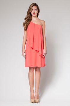 Asymmetrical dress - Poete