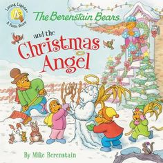 """Read """"The Berenstain Bears and the Christmas Angel"""" by Mike Berenstain available from Rakuten Kobo. In the newest Berenstain Bears Living Lights book, The Berenstain Bears and the Christmas Angel, the cubs discover there. Good Books, Books To Read, My Books, Teen Books, Story Books, Childrens Christmas Books, Childrens Books, The Nativity Story, Berenstain Bears"""