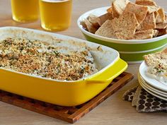 Drunken Goat Cheese Crab Dip recipe from Patrick and Gina Neely via Food Network