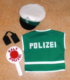 Fasching: Weste für Polizist-Kostüm | Kostenlose Nähanleitungen | kreative.stoffe.de