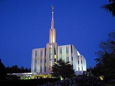 lds temples   Seattle Washington LDS (Mormon) Temple Photograph Download #2