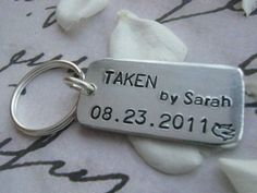 Black Friday Sale TAKEN Keychain TAKEN  by giftforbestfriends, $10.00