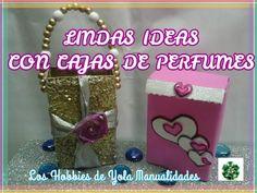DIY Ideas con cajitas de perfumes. Los Hobbies de Yola