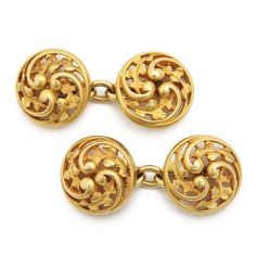 Antique Wièse Gold Cufflinks . . . . . der Blog für den Gentleman - www.thegentlemanclub.de/blog