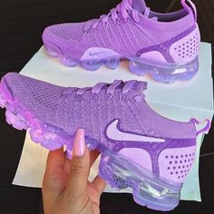 Discovered by Find images and videos about pink, shoes and nike on We Heart It - the app to get lost in what you love. Cute Nike Shoes, Cute Sneakers, Nike Air Shoes, Shoes Sneakers, Purple Nike Shoes, Purple Tennis Shoes, Purple Nikes, Purple Sneakers, Shoes Heels