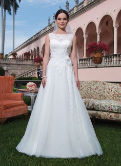 74ba4c8e7b8 Sweetheart Gowns wedding dress style 6069 Tulle