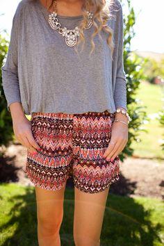 Dressed Up Shorts - Twenties Girl Style