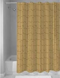 Bamboo Forest Printed Waterproof Fabric Shower Curtain Fabric