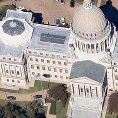 Theodore C. Link, Mississippi State Capitol, Jackson, MI, United States - street view