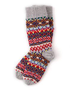 Festive Socks AD161 Socks & Tights at Boden