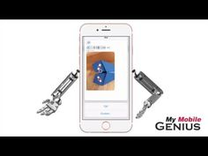 How To Use 3D Touch For Contact Options In Messages App With iOS 9 - YouTube  www.mymobilegenius.com  #apple #iPhone  #contacts