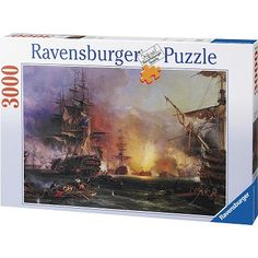 Ravensburger - Jigsaw Puzzle - 3000 Pieces - Bombing on Alger - Jigsaw Puzzle Road