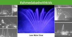 #AhmedabadwithKids The Laser Water Show - a breathtaking and an enchanting addition to the Swaminarayan Akshardham complex in Gandhinagar. The show reveals India's ancient secret of inner light through an Upanishadic story of Nachiketa.  Irrespective of what your religious beliefs are, this show is a MUST MUST MUST watch. It is absolutely world class in its execution and is mesmerising to see such vivid visuals coming out of thin air.