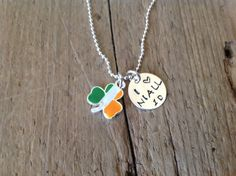 I Love Niall  Necklace One Direction Pendant 1D Niall<<<< Do you like this @Grace Dooner. Trying to find a present for you