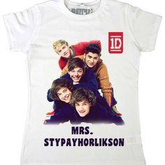 one direction merchandise   ONE DIRECTION MRS.STYPAYHORLIKSON T-SHIRT GittiGidiyor'da 65890295