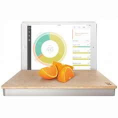 Get real-time insight into the nutrition of the food you eat with The Orange Chef Co. Prep Pad, available at the Food Network Store.