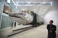 © Huang Yong Ping  2011 - Leviathanion