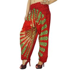 Indian Women Casual Pant Harem Pant Yoga Hippie Loose Trouser Gypsy Pa 3171