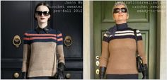 inspiration and realisation: DIY fashion blog: DIY Jason Wu pre-fall 2012 - the sweater