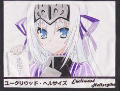 Eucliwood Hellscythe - ユークリウッド・ヘルサイズ, Anime Koreha Zombie Desuka