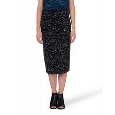 Proenza Schouler Splattered Pencil Skirt