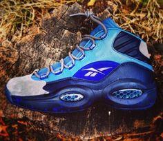 Stash x Reebok Question Mid - EU Kicks: Sneaker Magazine Reebok Question Mid, Sneaker Magazine, Colorful Shoes, Classic Sneakers, Classic Leather, Shoe Closet, Shoe Collection, Me Too Shoes, Hiking Boots